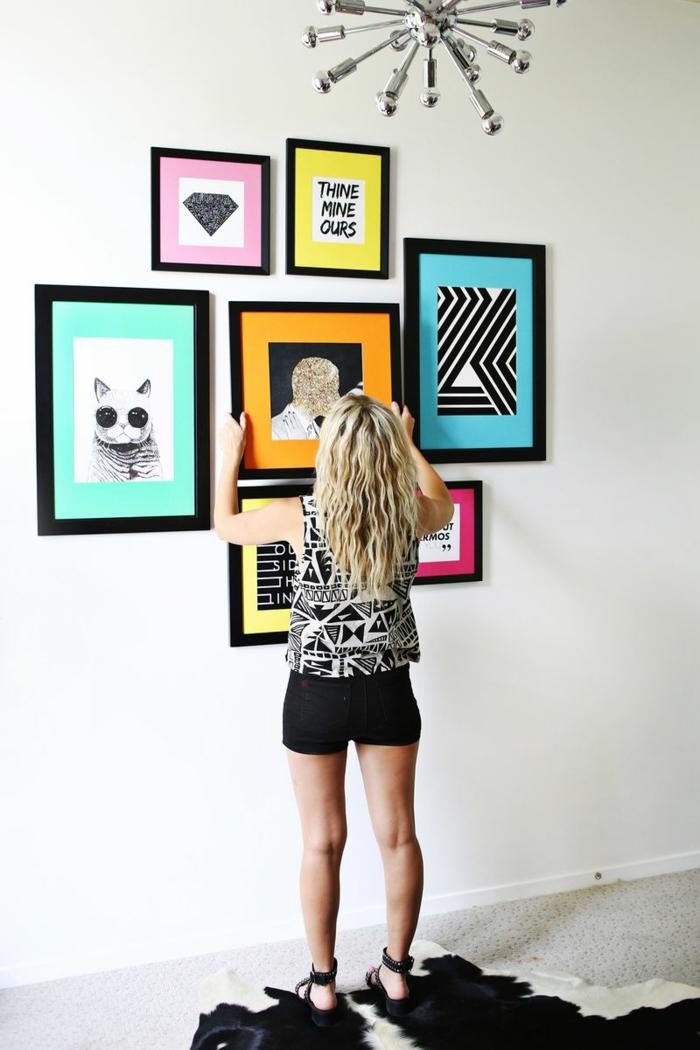 sublimez vos pices avec un mur de cadres plein dides pour une dcoration murale impressionnante