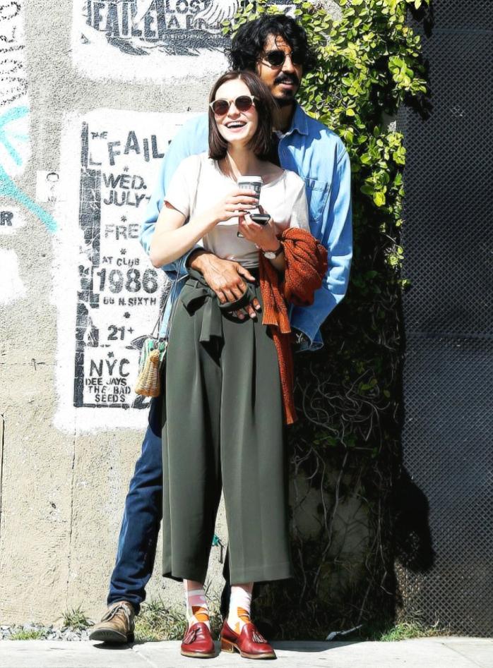 l'acteur dev patel et sa nouvelle copine et collègue l'actrice tilda cobham-hervey, les nouveaux duos célèbres d'hollywood