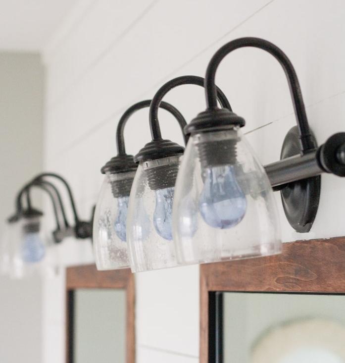 changer éclairage salle de bain idée déco aménagement salles eau moderne design