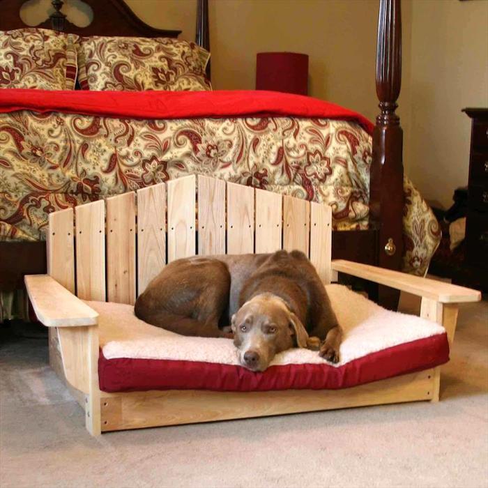 Fabriquer Lit Pour Chien En Bois - 1001+ idées 41 idées et un tuto pour fabriquer un panier pour chien