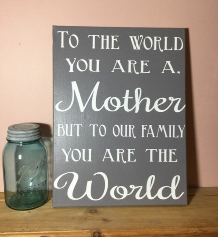 1001 id es de cadeau pour la f te des m res cr er ou for Cute gifts to get your mom for christmas