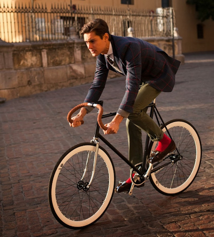 velo fixie vintage daily sans frein cintre guidoline homme hipster