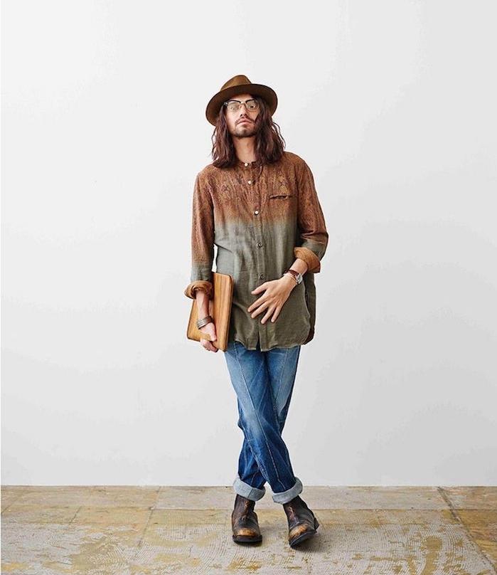 style homme année 90 90s tenue grunge mens fashion chemise vintage