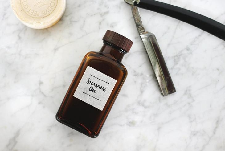 huile de rasage, cadeau fête des pères à fabriquer, huile de pépins de raison, huile d olive, huiles essentielles, bricolage facile, produit bio