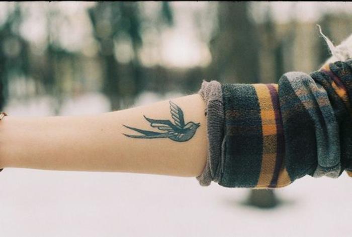 Modèle tatouage cage oiseau tatouage infini oiseau beau bleu
