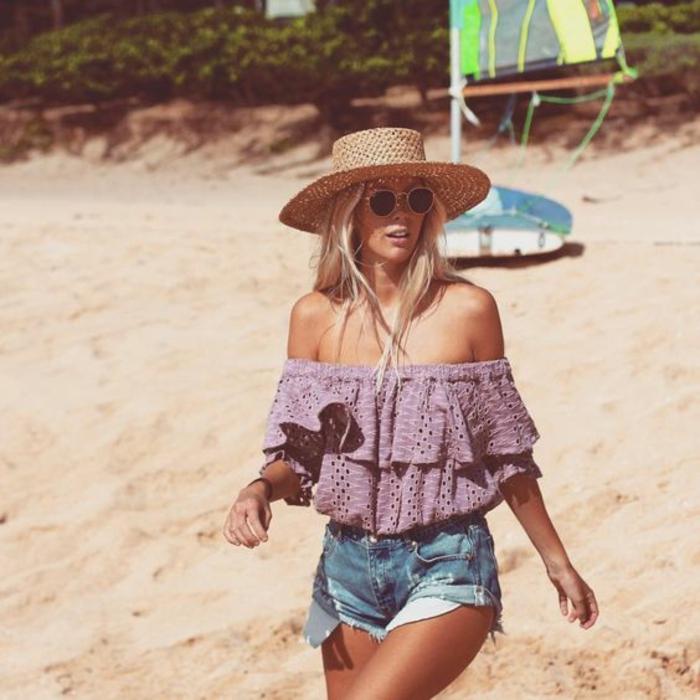 Tenue champetre femme style hippie tenue chic shots jean