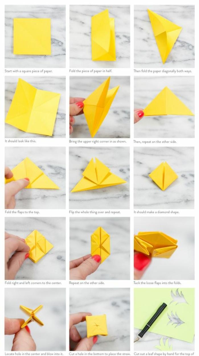1001 id es originales comment faire des origami facile - Comment faire un sapin en origami ...