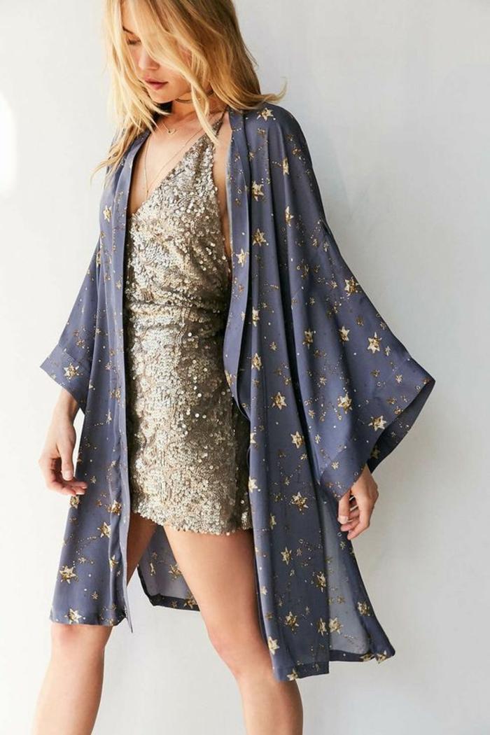 Chic idée s habiller pour aller en boite tenue soirée femme en paillettes