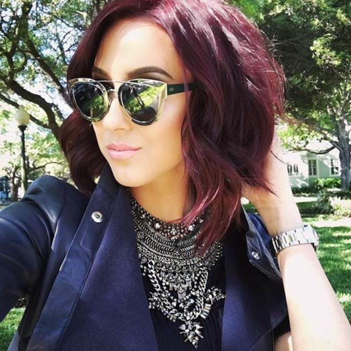 Jolie couleur cheveux rouge – la couleur rouge cheveux jolis
