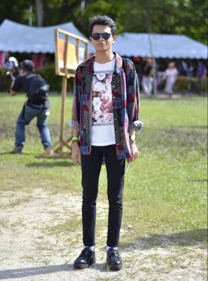 vetements punk indie grunge style homme chemise vintage hipster dr martens basse