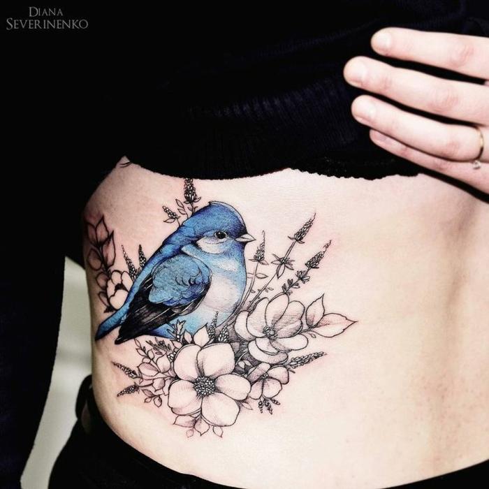 Cool tatouage oiseaux tatouage bras femme belle