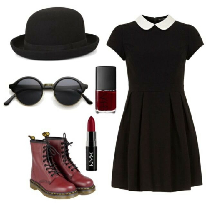 Tendance rock chic style vestimentaire rock n roll tenue de jour vernis rouge