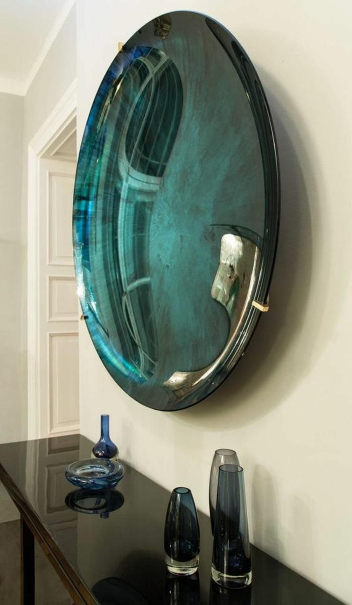 canestrelli venise miroir oeil de sorcière aux nuances verdatres