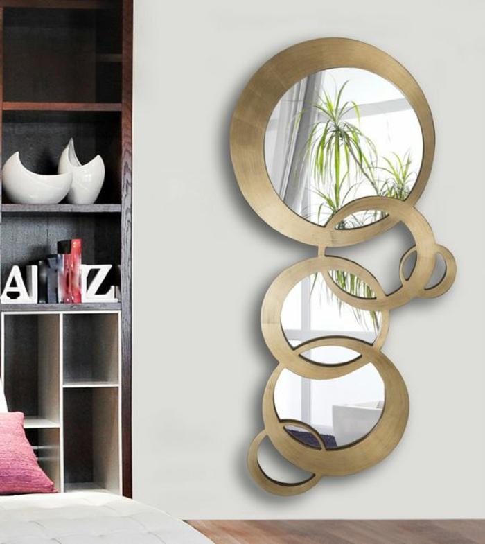 1001 id es pour l 39 ameublement avec le miroir sorci re - Deco avec miroir mural ...