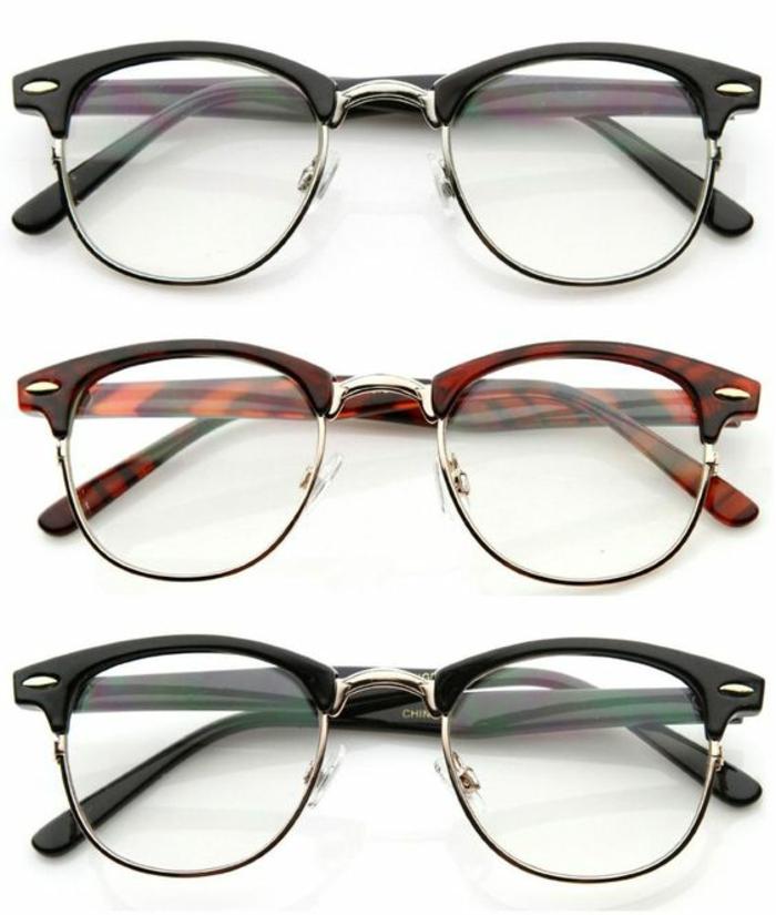 look année 80 mode lunettes cultes Ray Ban dioptriques rétro