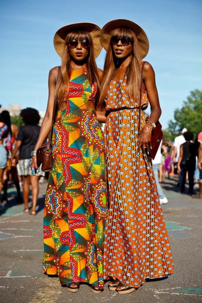 comment porter l'imprimé ethnique africain, comment adopter la mode africaine dans notre dressing d'été
