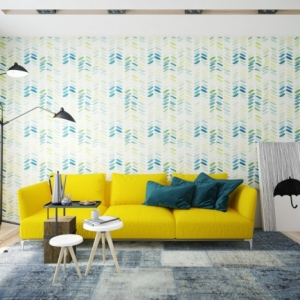 Plusieurs belles idées de déco en bleu et jaune pour créer une ambiance conviviale