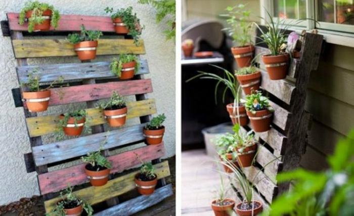 Jardin Vertical Avec Palette Maison Design
