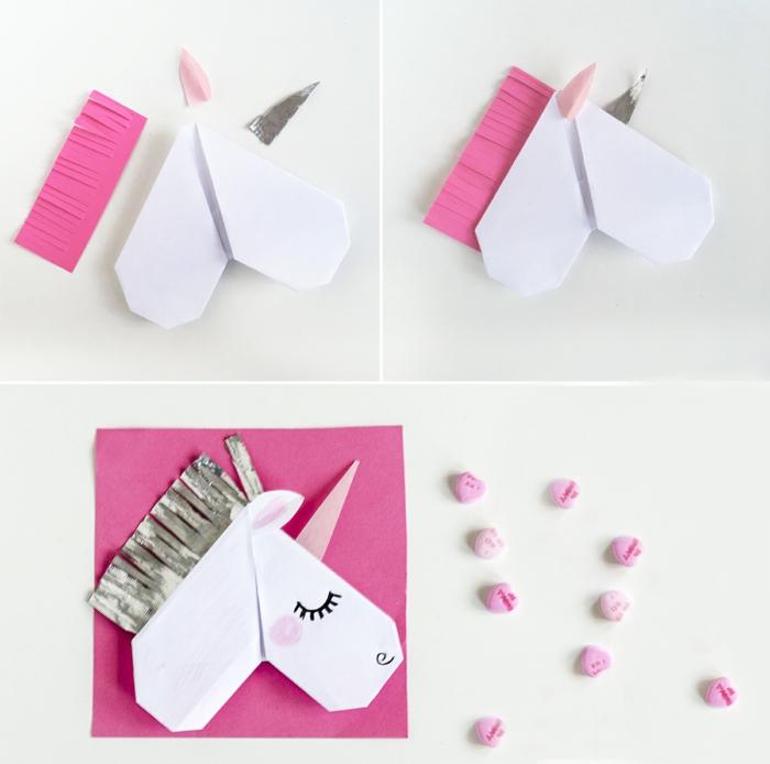 tuto origami rose facile