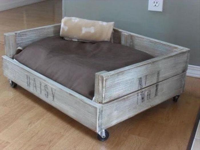 1001 id es 41 id es et un tuto pour fabriquer un panier - Fabriquer une niche pour chat en bois ...