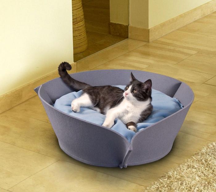 coussins pour chats panier à chat style couchage diy de salon