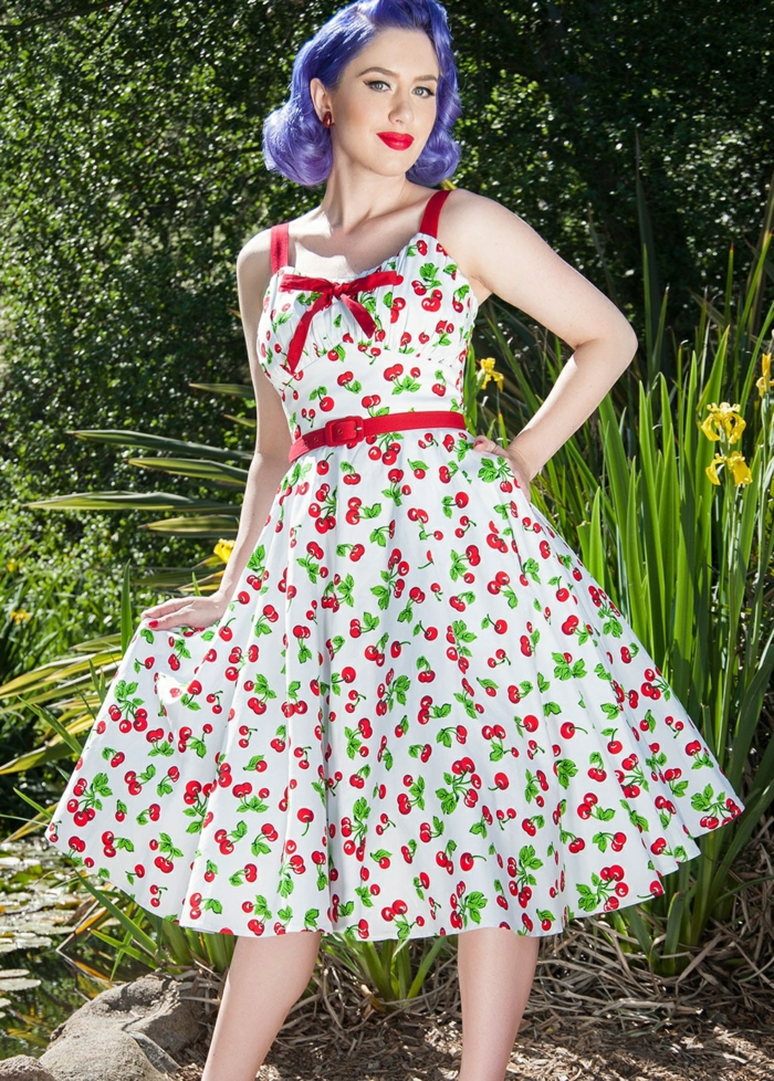 Belle robe année 60 robe pin up comment styler