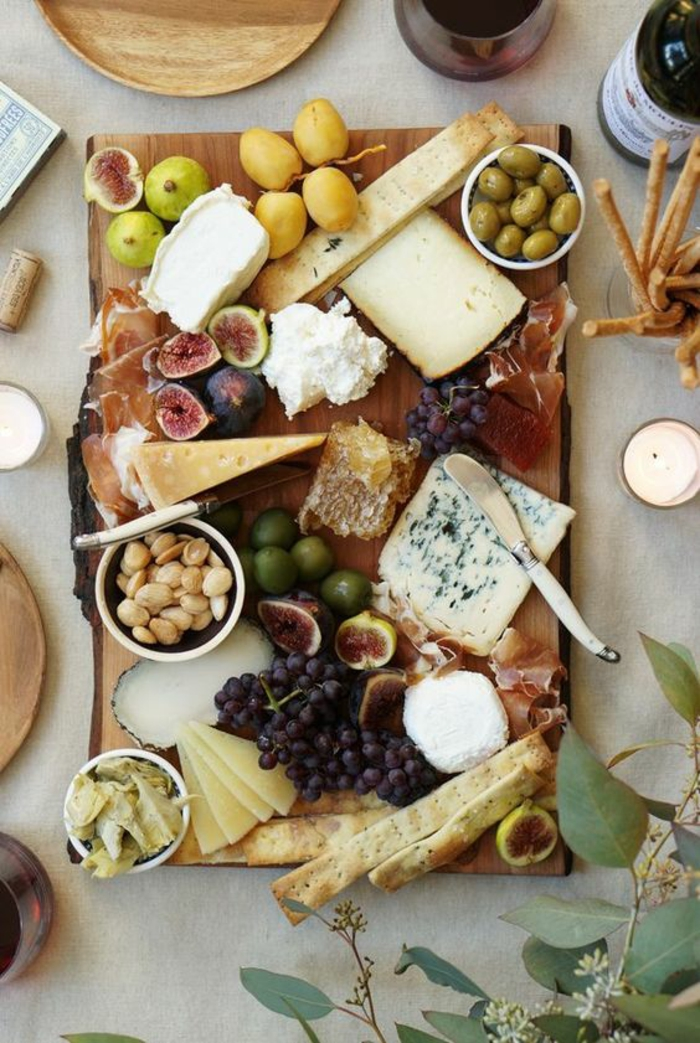 Fancy Meat And Cheese Platter