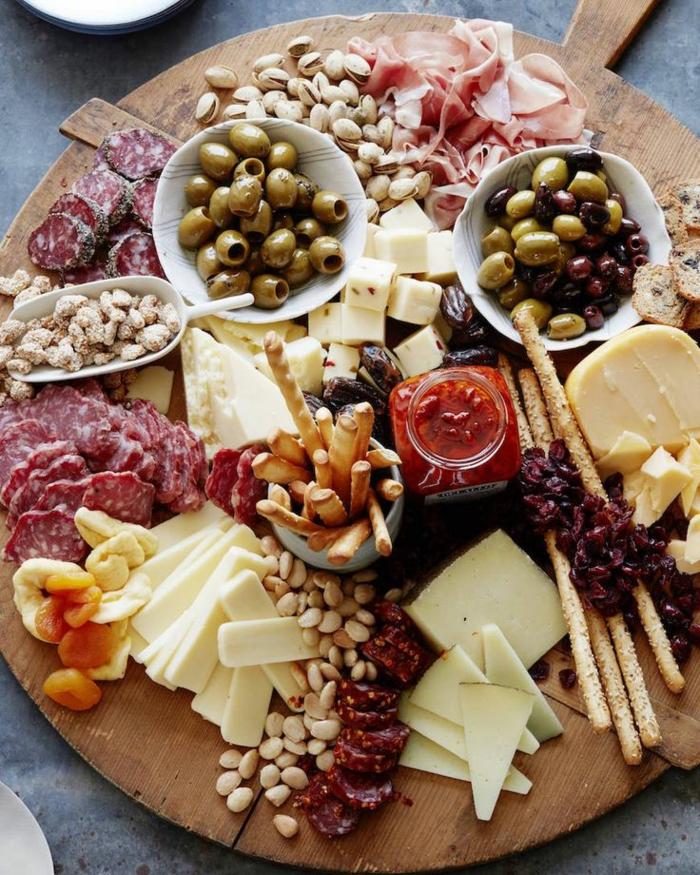 Deco Plateaux De Charcuterie : Idées pour un plateau de charcuterie et fromages