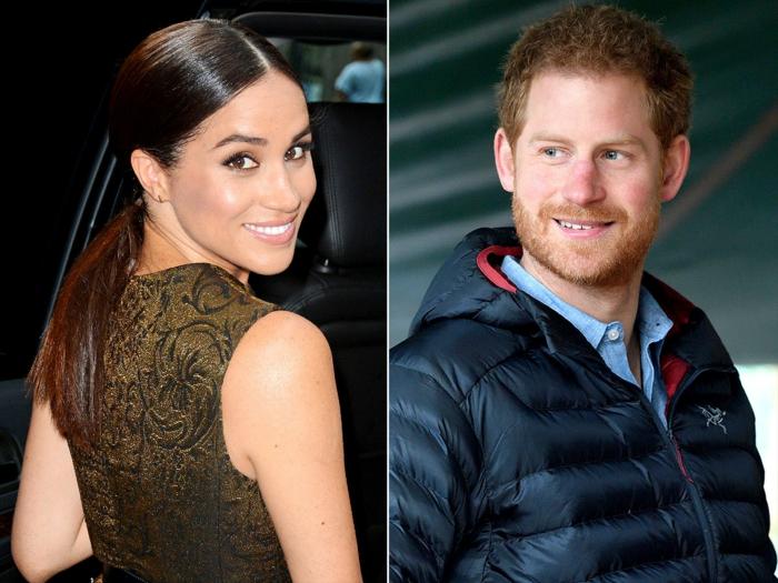 les duos célèbres de 2017, une romance royale qui fait rêver, prince harry et sa copine l'actrice américaine meghan markle