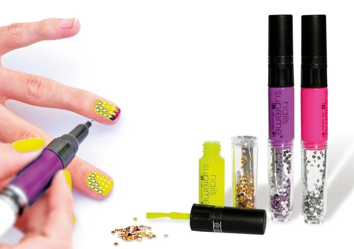 chose a faire quand on s ennuie, tout pour les ongles, deco ongle, dessin sur ongle, ongles nail art, vernis nail art