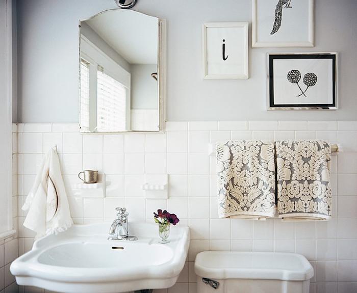 salle de bain renovation renover salle de bains idee pour refaire murs blancs