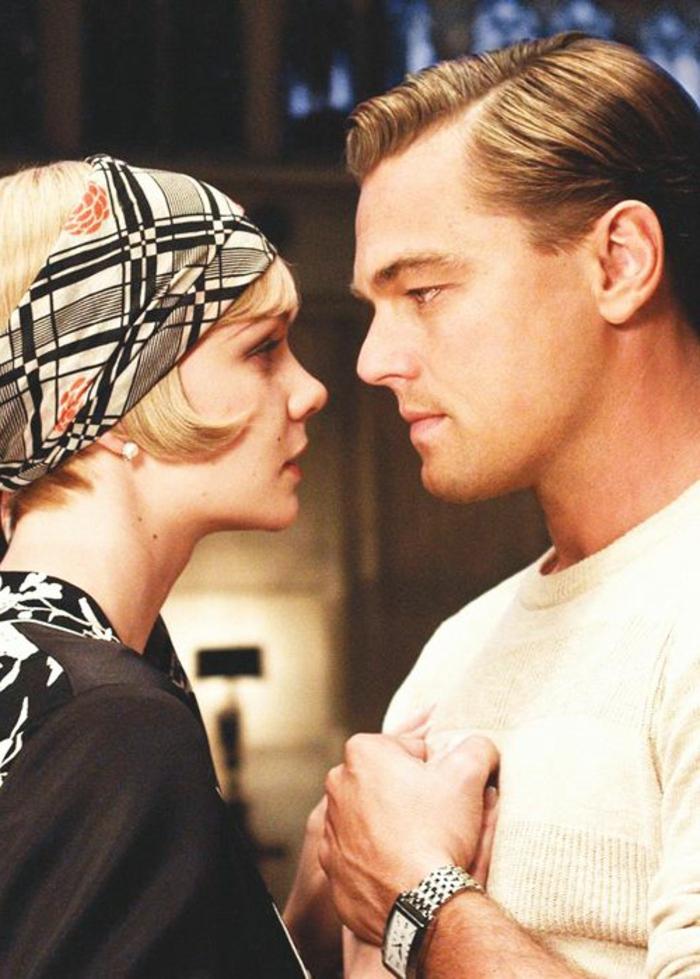 tenue gatsby, la mode au temps de Gatsby le Magnifique, Leonardo Dicaprio et Carey Mulligan