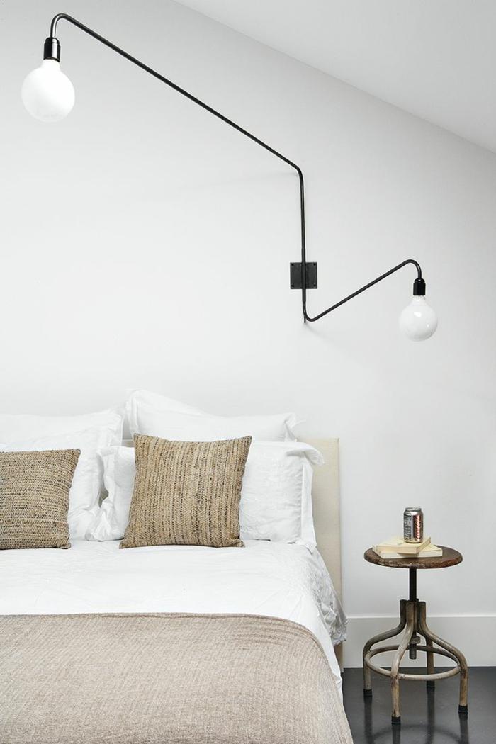 1001 id es pour une lampe de chevet suspendue dans la for Lampade da parete design economiche