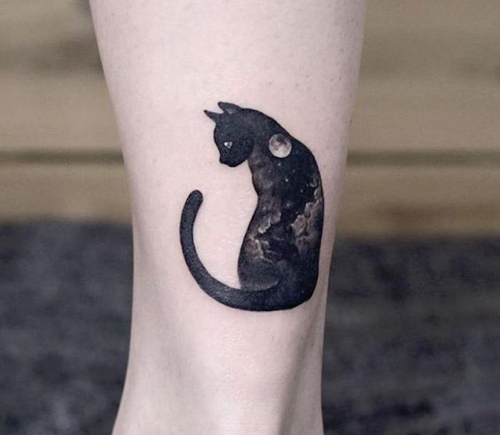 ▷ 1001+ idées | 40 idées de tatouage chat – matez le matou !