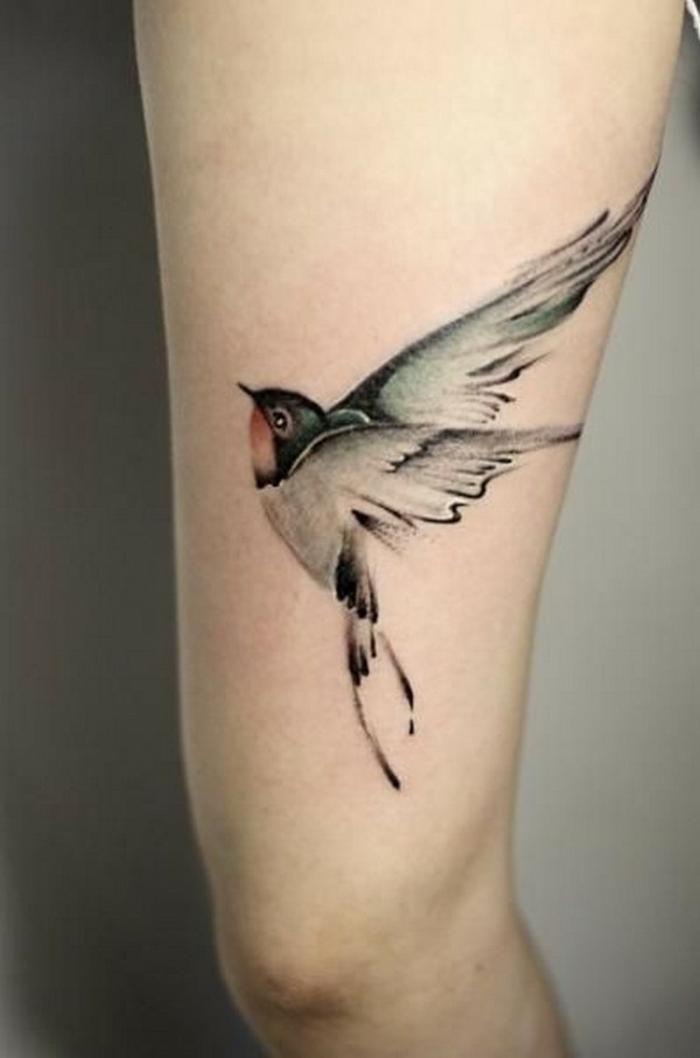 Dessin tatouage d oiseau phrase tatouage quel choisir