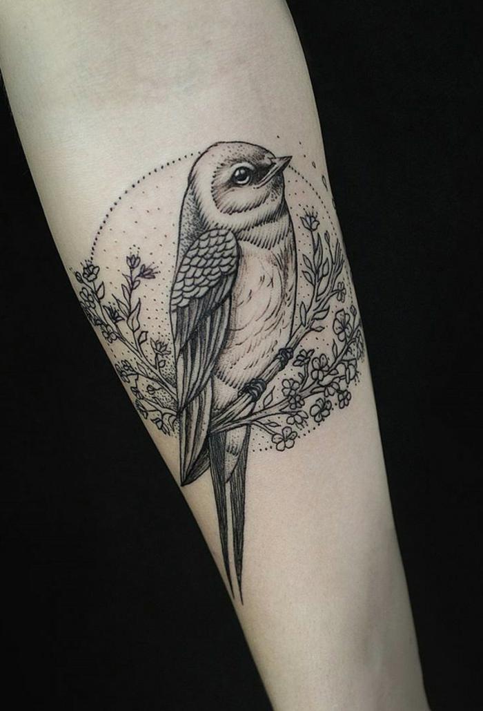 Tatouage oiseau origami tatouage oiseau qui s envole circle