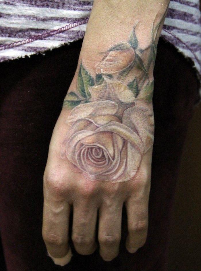 1001 Idées Tatouage Rose Poignet Elles Poussent Sur La Peau