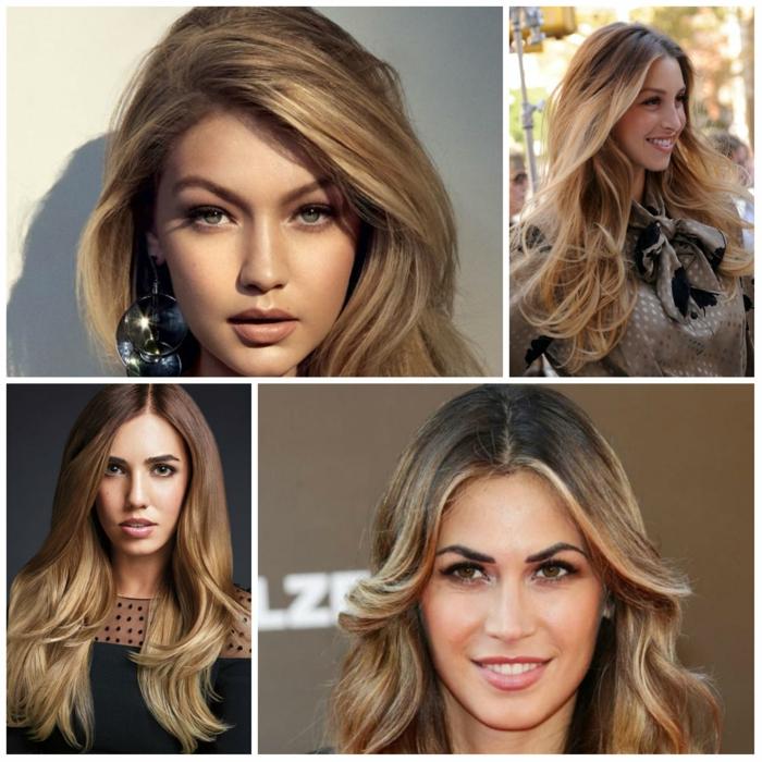 la nouvelle tendance dans la coloration capillaire, la coloration bronde adoptée par les stars, une couleur à mi-chemin du blond et du brun clair