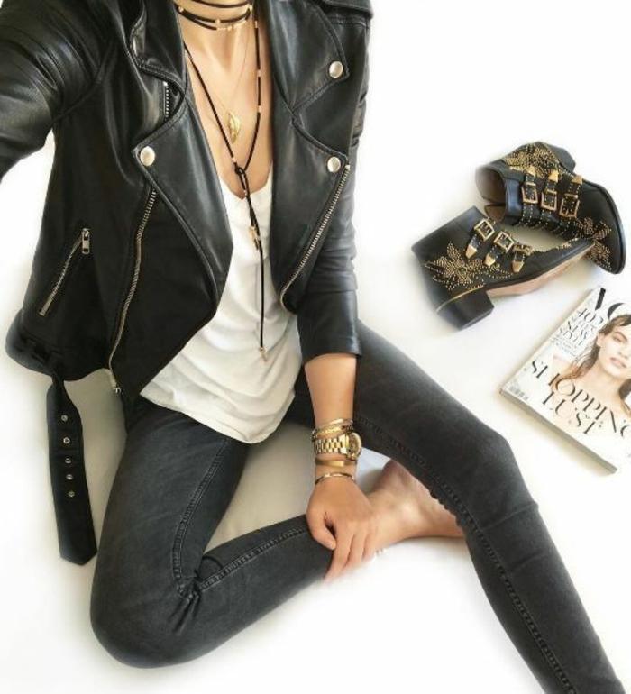 1001 Id Es De Tenue Rock Femme Et Astuces Comment Obtenir Le Look