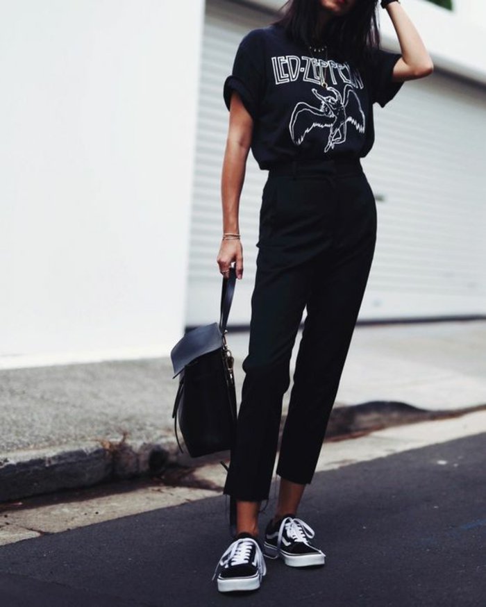 Cool tenue rock and roll femme belle rock tenue de jour