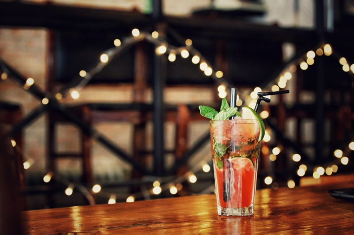 que faire pendant les vacances quand on s ennuie, comment faire un cocktail, cocktail sans alcool, guirlande lumineuse, recette cocktail
