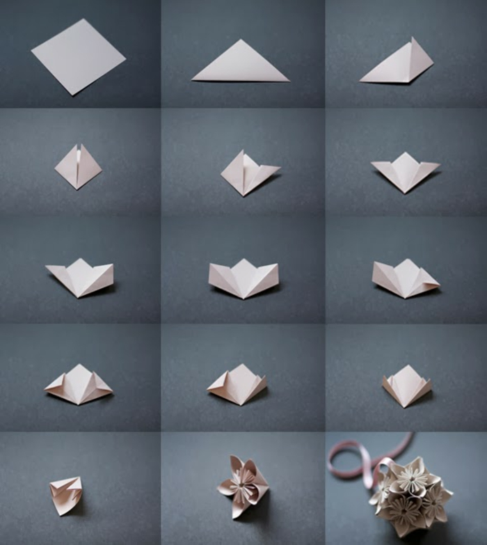 1001 id es originales comment faire des origami facile - Comment faire origami ...