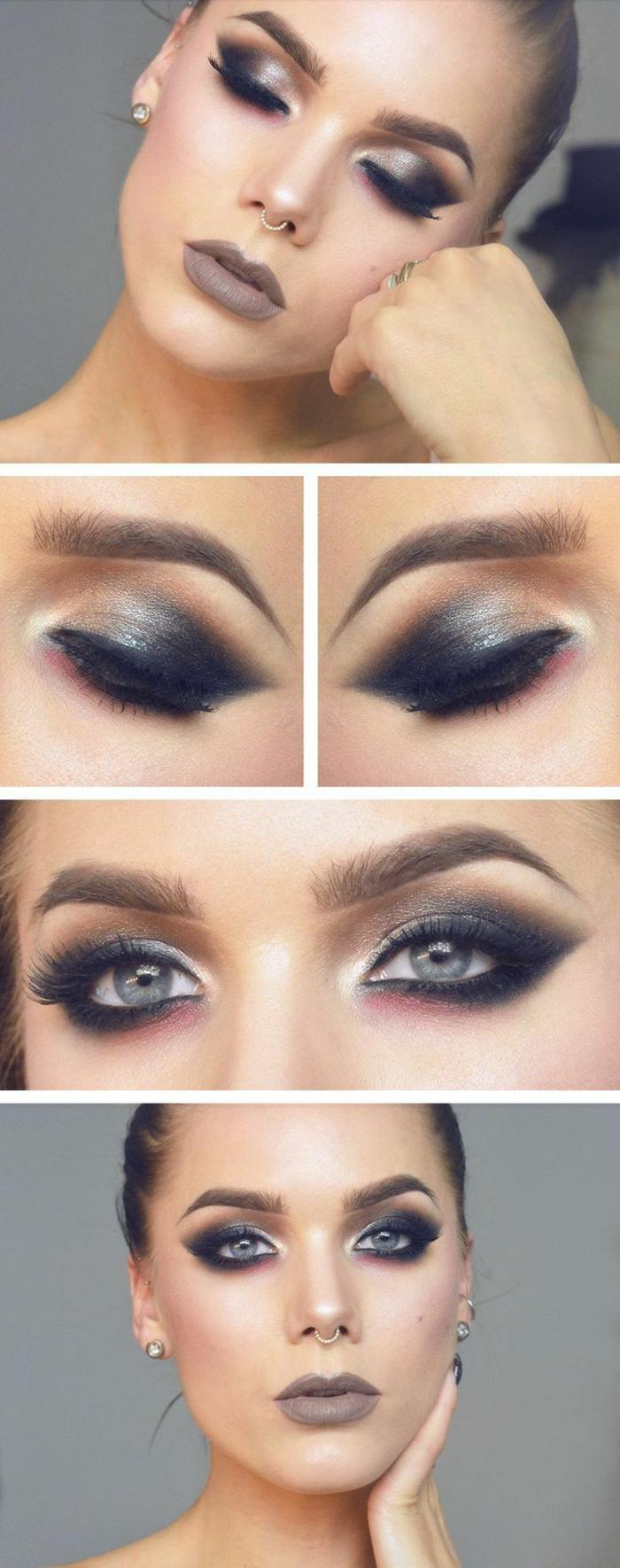 tuto smoky eyes yeux marrons elegant pour ce maquillage je vous propose un tuto avec la naked. Black Bedroom Furniture Sets. Home Design Ideas