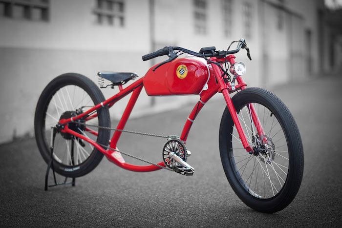 vélo cruiser lowrider américain style chopper custom