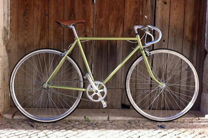 conversion cadre fixie vintage pignon fixe velo sans frein