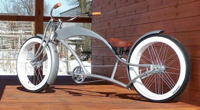 vélo custom beach cruiser lowride design