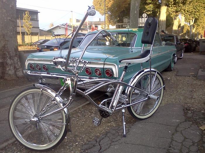 chopper vélo custom chrome customiser style snoop los angeles américain