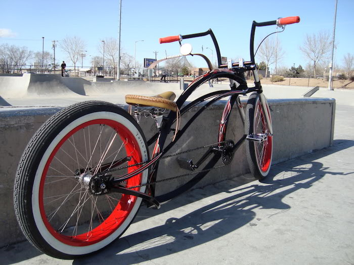 velo californien chopper bike lowride design original style usa