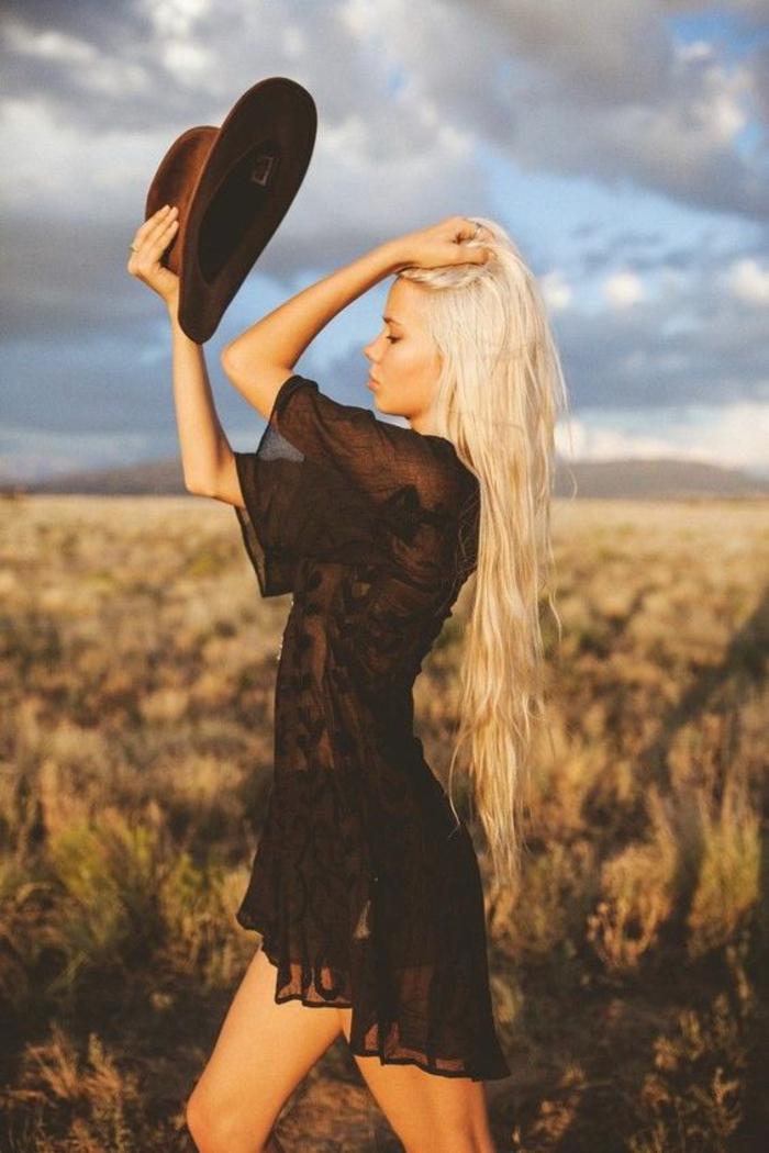 Tenue champetre femme style hippie tenue chic