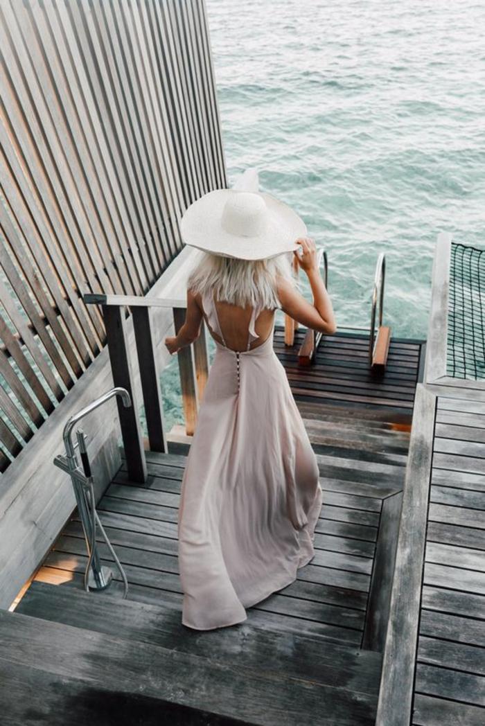 Cool idée comment s habiller robe de soirée bohème